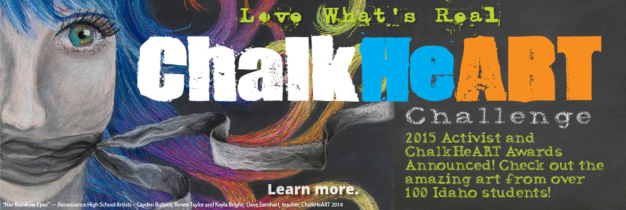 Chalk HeART Challenge Award Slide