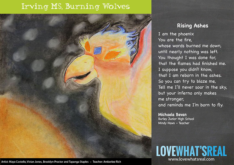 Statewide Middle School - Irving MS, Burning Wolves