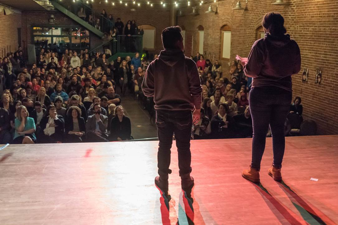 Power of Words Poetry Slam Photo 1