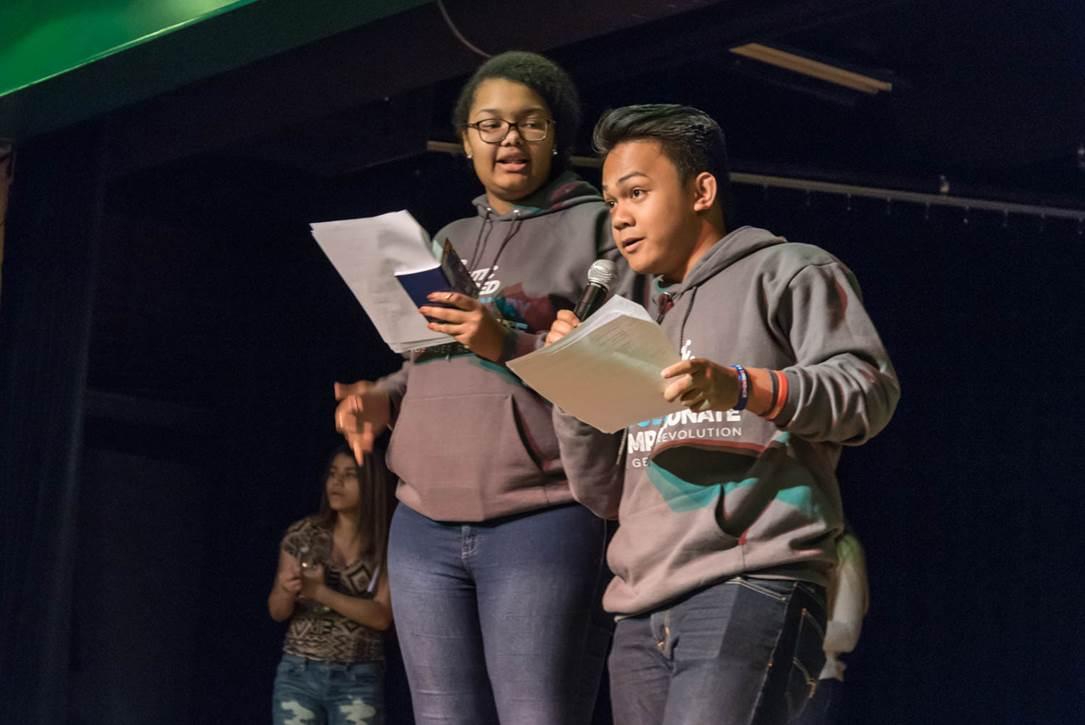 Power of Words Poetry Slam Photo 2