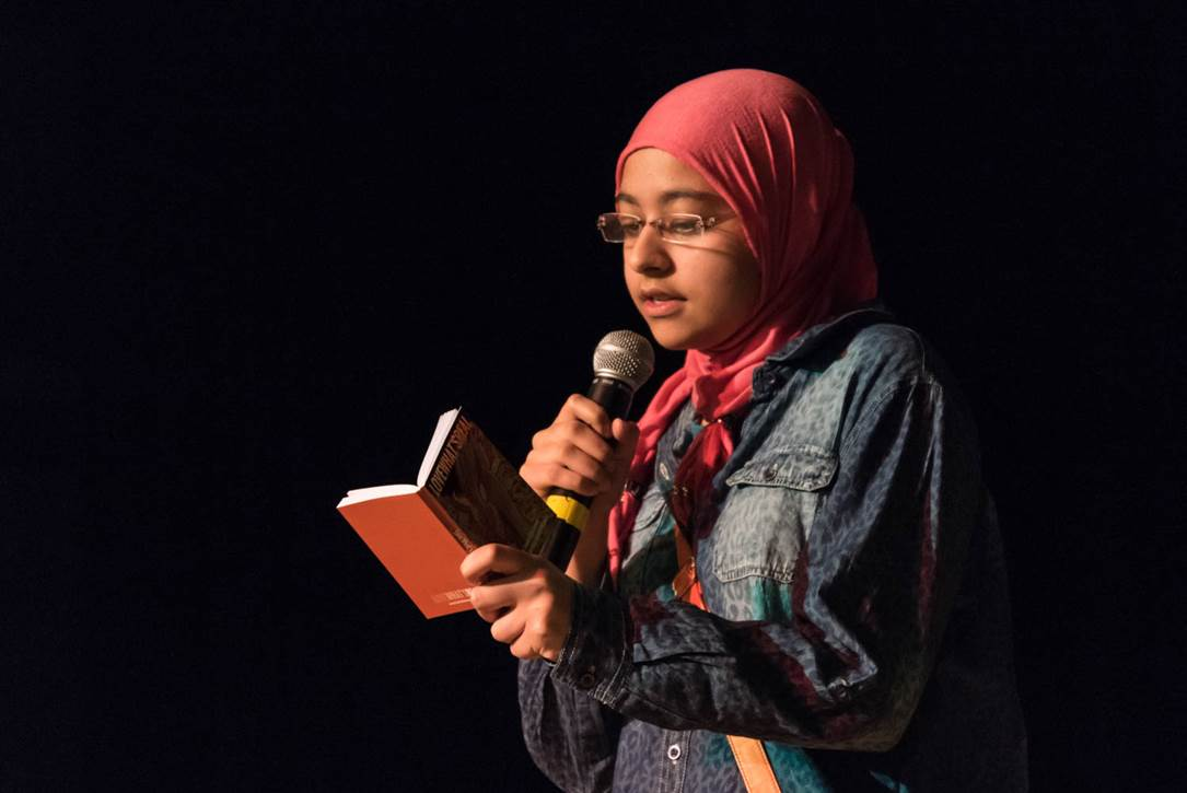 Power of Words Poetry Slam Photo 6