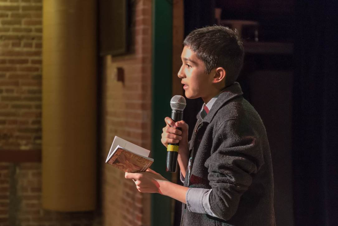 Power of Words Poetry Slam Photo 7