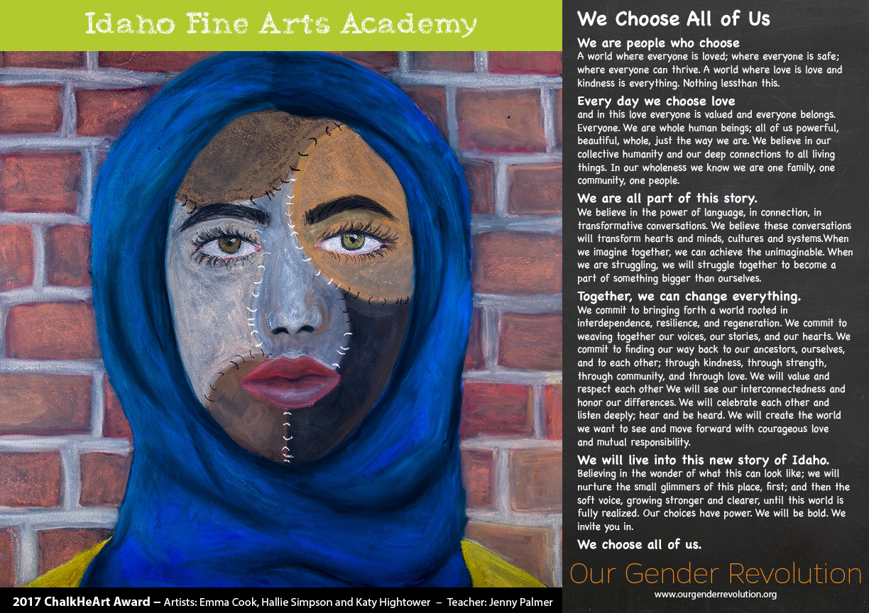 Idaho Fine Arts Academy - We Choose All of Us