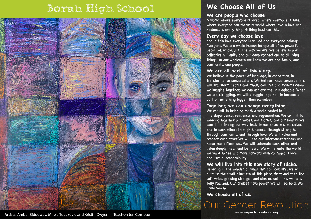 Borah High School - We Choose All of Us