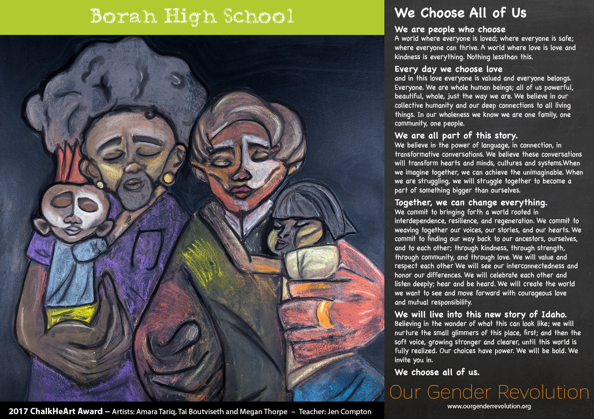Borah High School - We Choose All of Us (2)