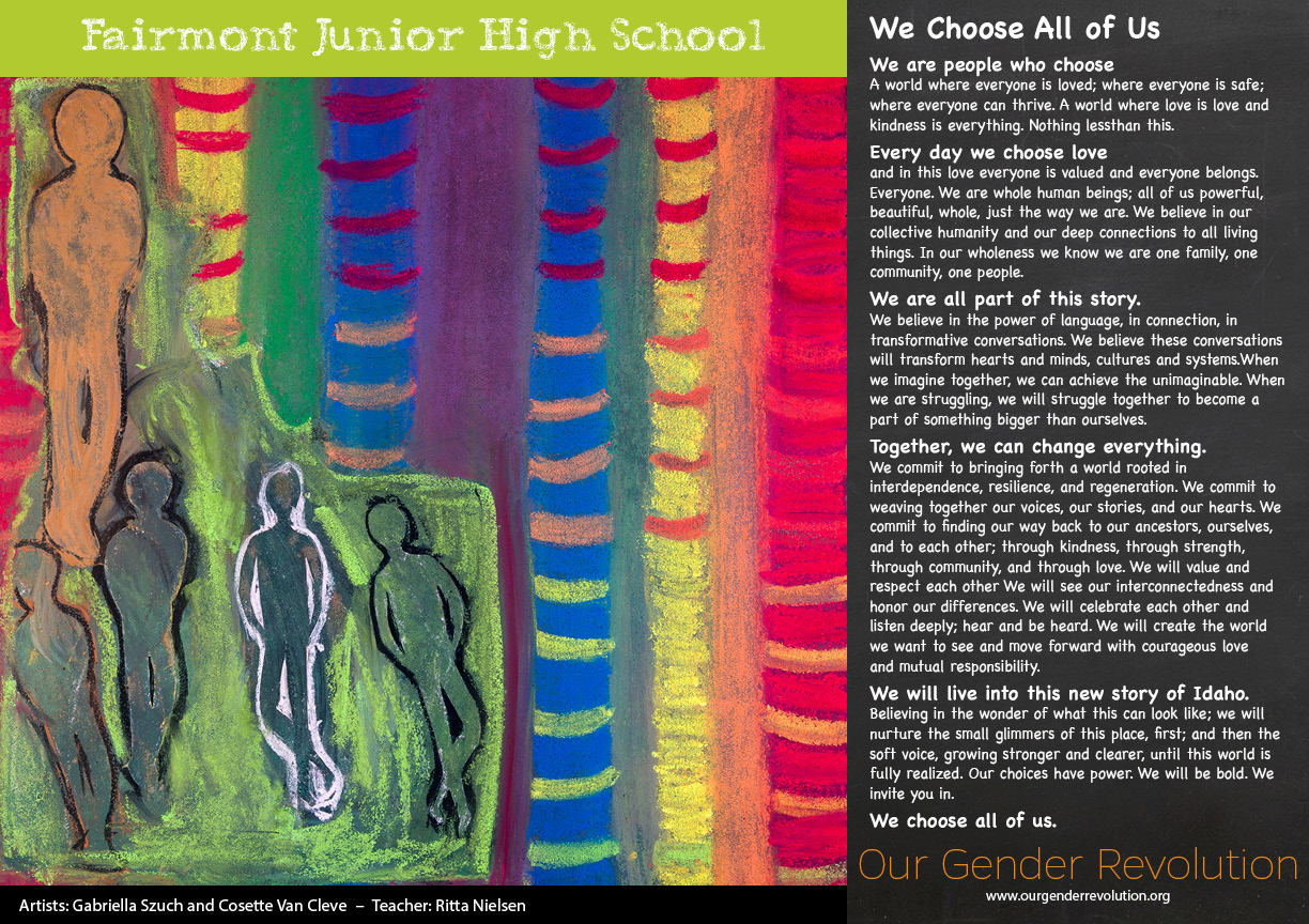 Fairmont Junior High - We Choose All of Us