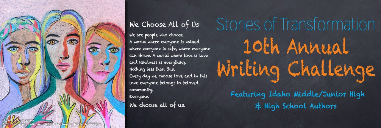 2019 Stories of Transformation Writing Challenge Cover Image